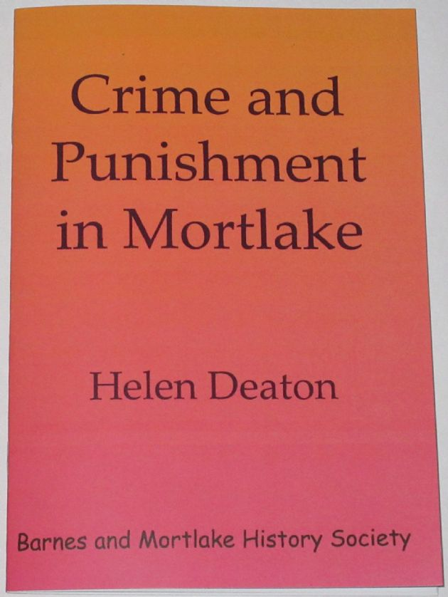 Crime and Punishment in Mortlake, by Helen Deaton